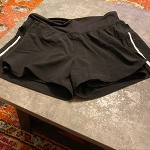 Champion shorts with spandex shorts black